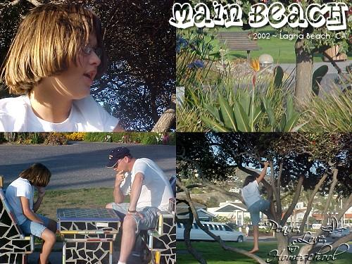 Main Beach ~ Laguna Beach, CA ~ 2002