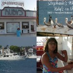 Stephanies 9th Birthday at Rubys on the Pier, Newport Balboa, CA ~ 2002