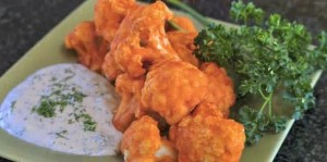 Cauliflower Buffalo Wings & Engine 2 Menu Planning
