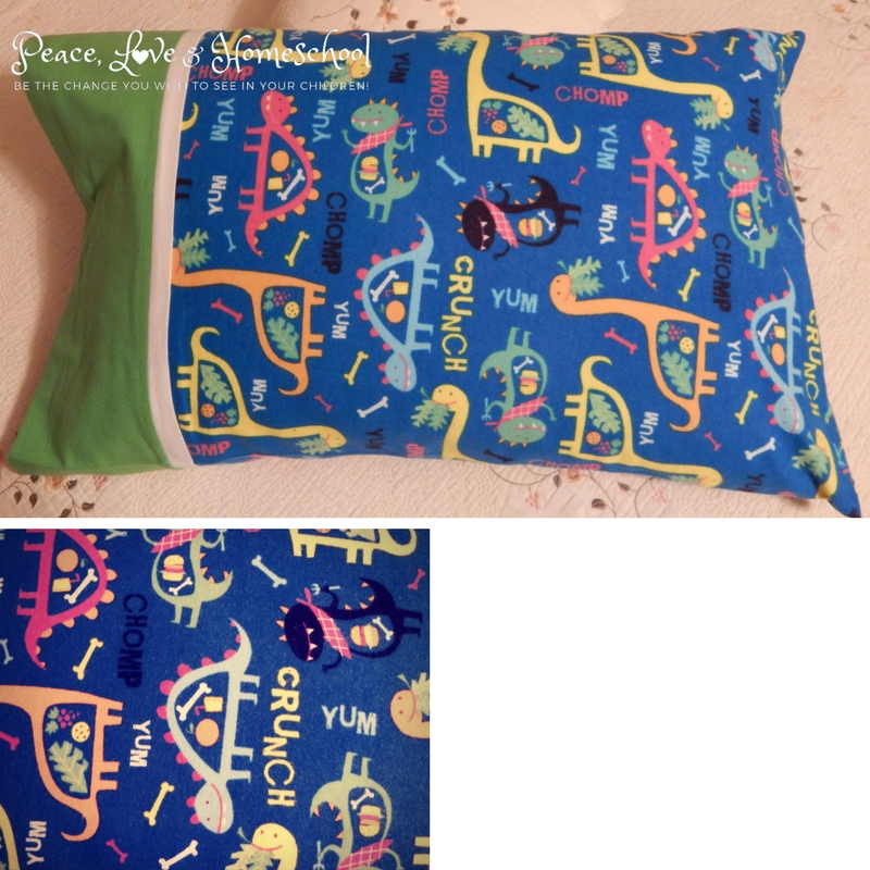 Dinosaur Yum Pillowcase