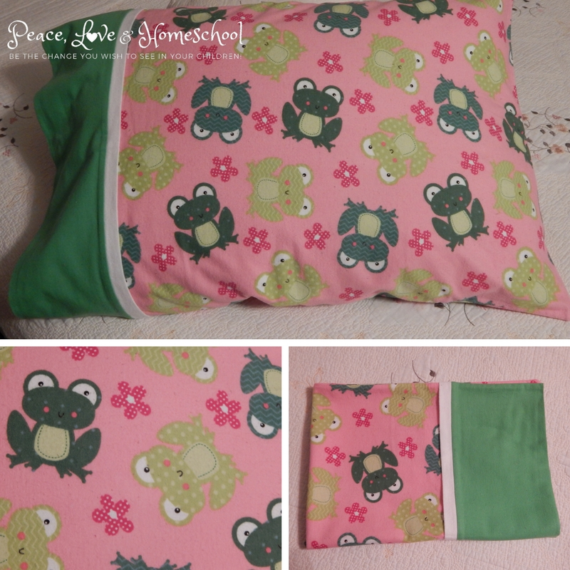 Frog Pillowcase