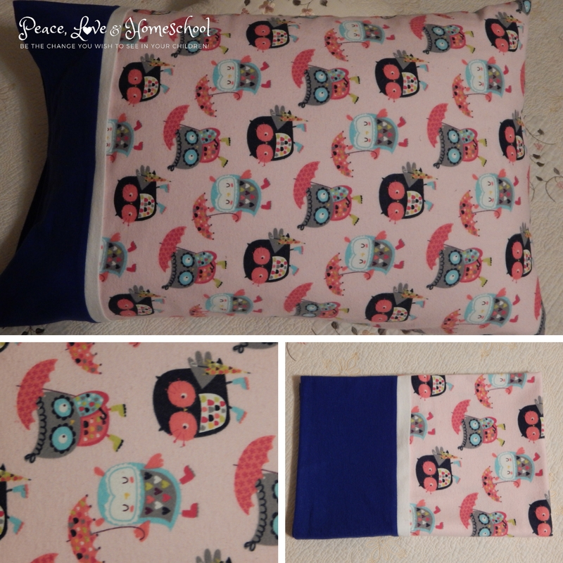 Umbrella Owl Pillowcase
